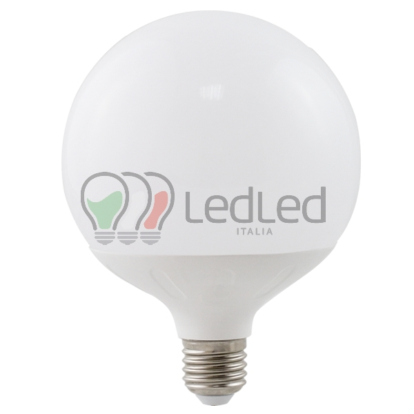 Lampadina led g120 e27 20w bianco caldo 3000k for Lampade a led e27