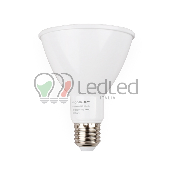 Lampadina led par30 e27 12w bianco caldo 3000k for Lampadina e27 led