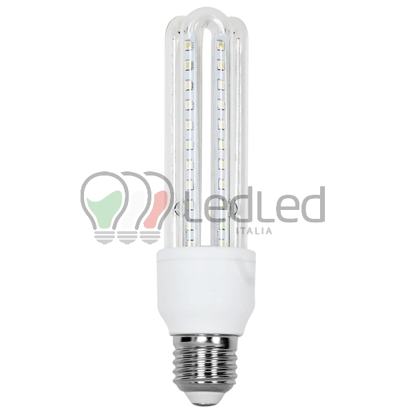 Lampadina led t3 e27 9w 3u bianco caldo 3000k for Lampadina e27 led