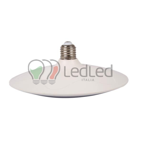 Lampadina led ufo e27 20w bianco caldo 3000k for Offerte lampadine a led e 27