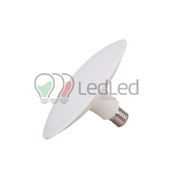 Lampadina led ufo e27 24w bianco caldo 3000k for Offerte lampadine a led e 27