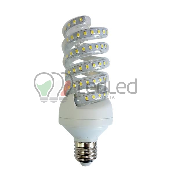 Lampadina led e27 spirale 18w bianco neutro 4000k for Offerte lampadine a led e 27